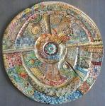 Hervé THAREL SCHMIMBLOCK'S écu 2013 - diamètre 35cm 1
