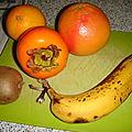 Soupe de fruits de saison