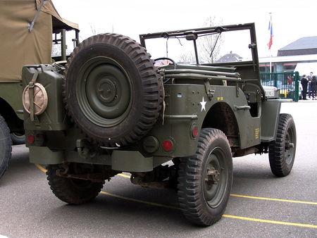 JEEP US Army Bourse Echanges Auto Moto de Chatenois 2009 2