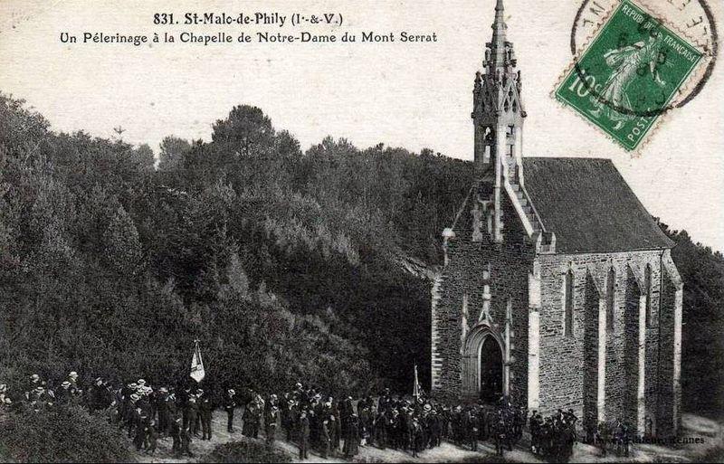 St Malo de Phily, chapelle ND de Montserrat