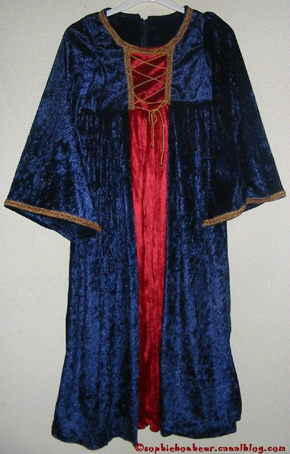 couture robe princesse medieval