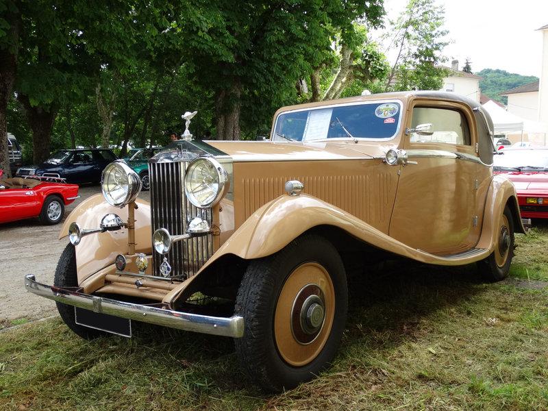 ROLLS ROYCE 20-25 by Gurney Nutting 1933 Lons le Saunier (1)