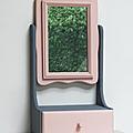 Petit mobilier ... coiffeuse miroir pivovant * annabelle