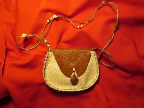 sac bandoulière cuir marron