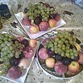 Les fruits de la saison