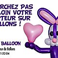 Sur bordeaux: un sculpteur de ballons hors norme !!