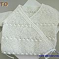 Tutoriel tricot bb,brassiere tricotee main, explications à telecharger