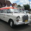 Mercedes 190c w110 ambulance 1964