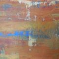 20b - Acrylique sur papier marouflé sur toile détail