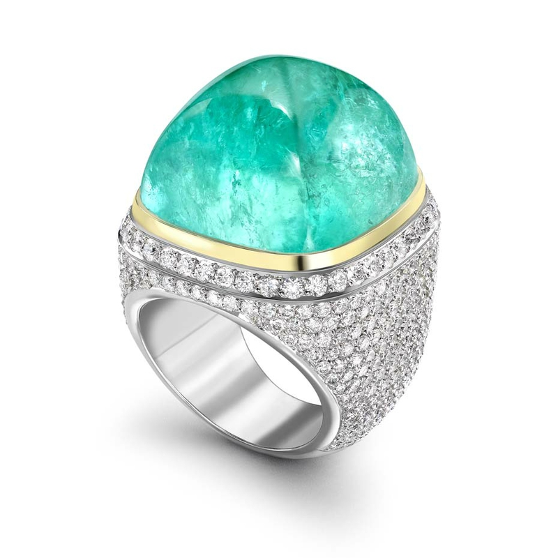 Theo Fennell_mozambique ring_Paraiba tourmalines