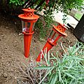 Les ambiances estivales - dans un p'tit coin du jardin -