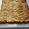 Carrés moelleux aux pommes