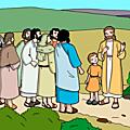 Evangile et homélie du mardi 11 jul 2018. sur votre route, proclamez que le royaume des cieux est tout proche