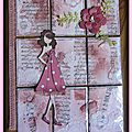 Pocket letter - prima dolls vieux rose