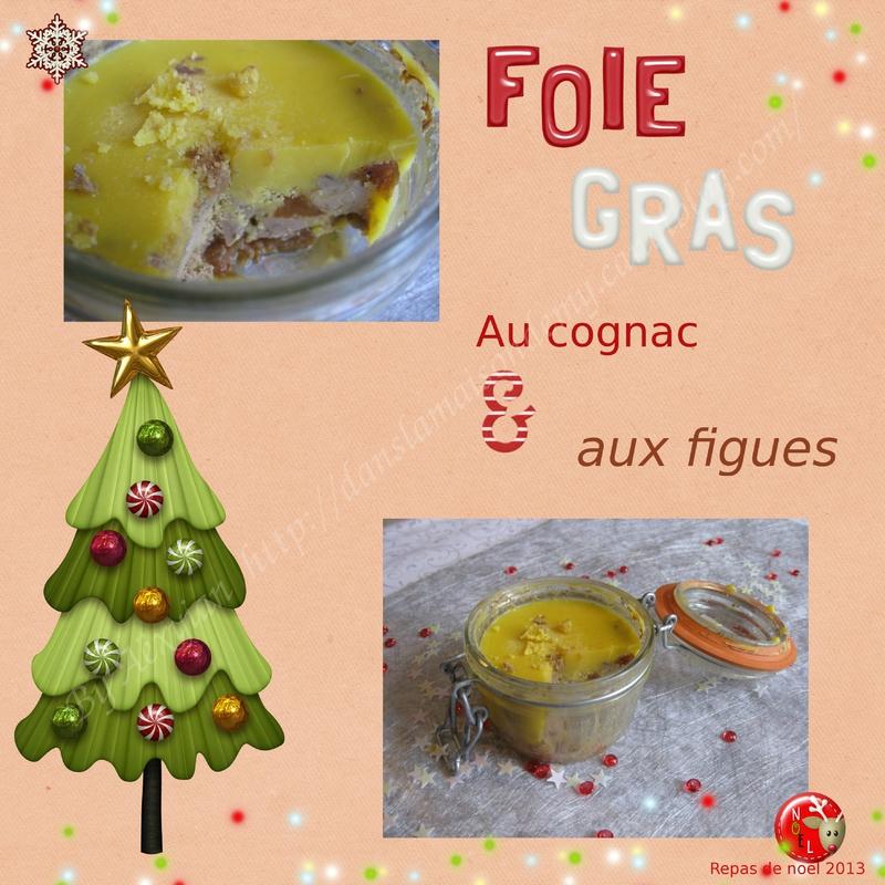 Foie gras figue et cognac