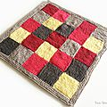 Couverture patchwork fille