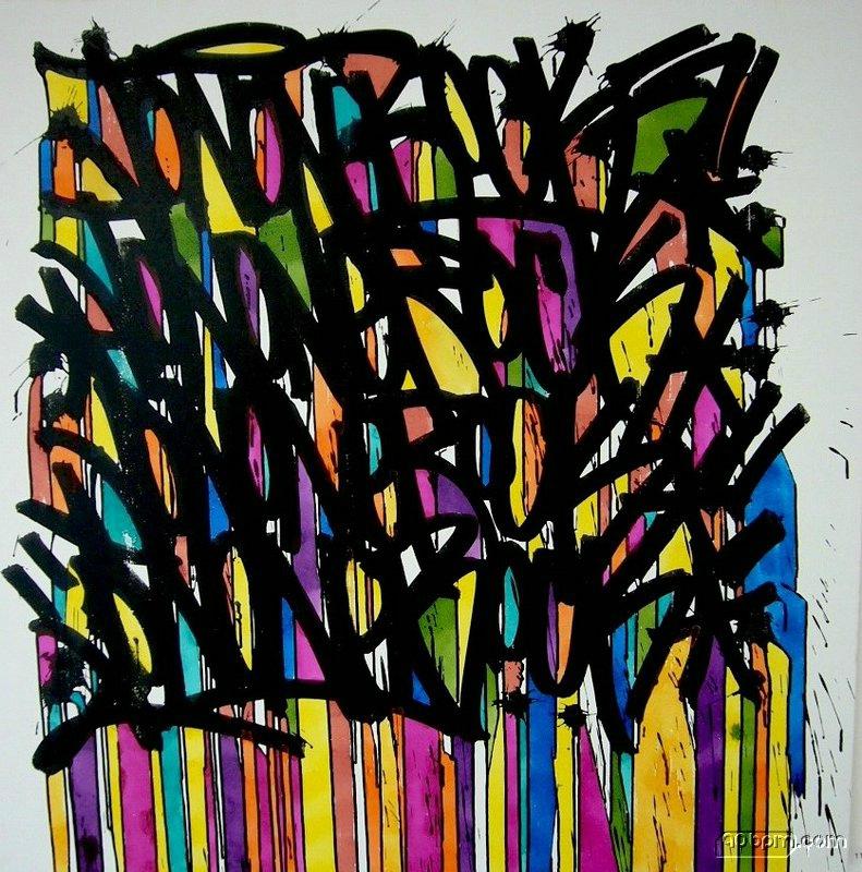 144_Compositions abstraites_A la manière de JonOne (toile2)