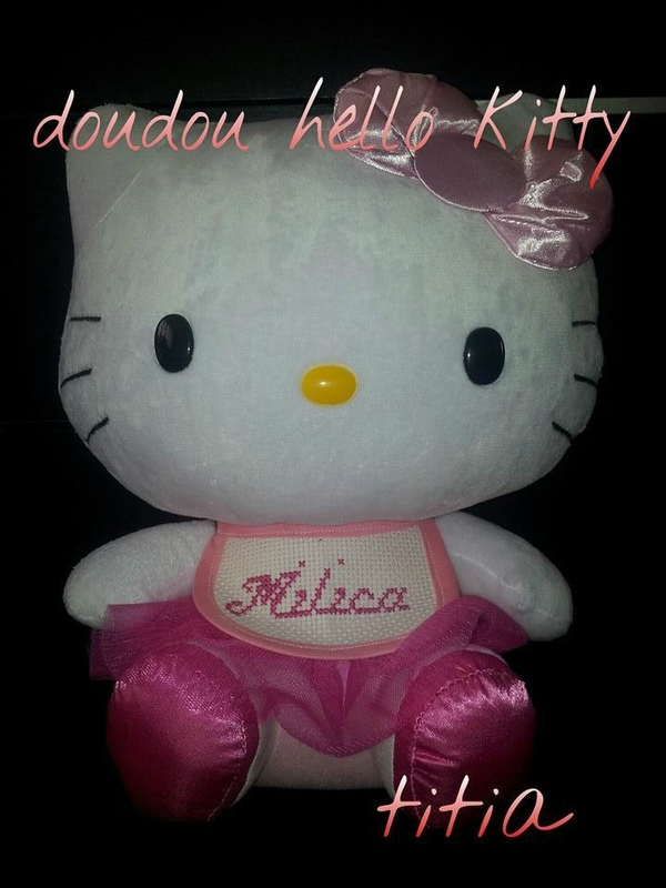 doudou hello kitty tutu pour milica