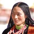Visage tibétain