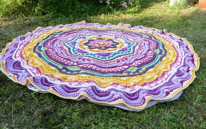 Mandala final relief