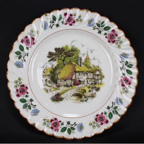 assiette-decorative-porcelaine-limoges
