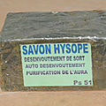 Savon de purification