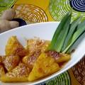 Ananas poêlé au gingembre
