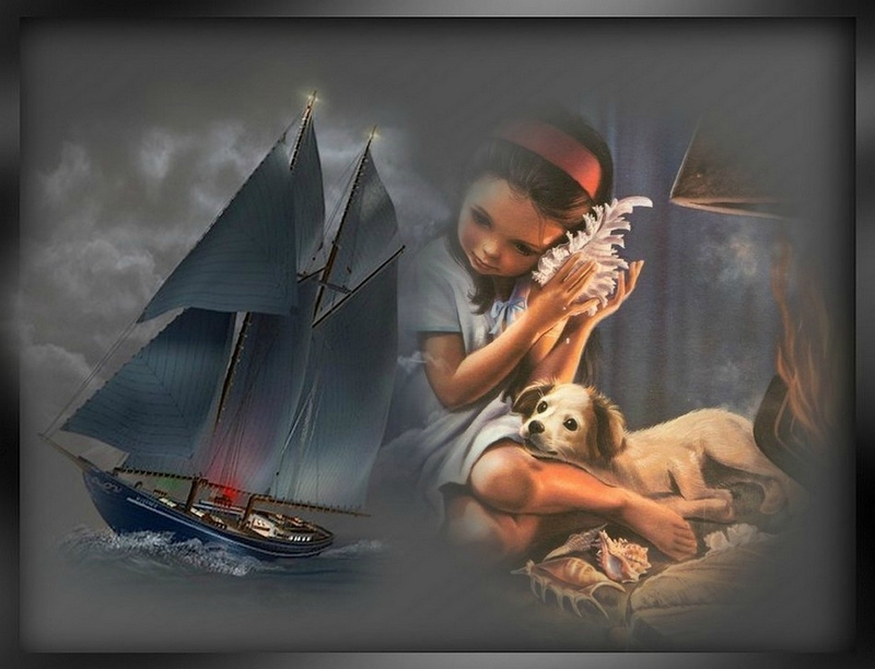 martine et bateau
