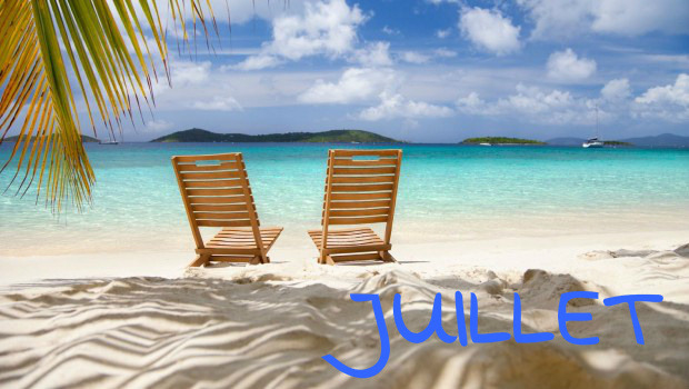 juillet vacances
