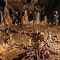 Bruniquel grotte