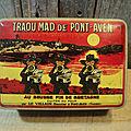 Ancienne boite publicitaire biscuits bretons traou mad de pont-aven