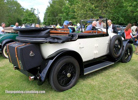Delage type DI transformable de 1922 (Retro Meus Auto Madine 2012) 02