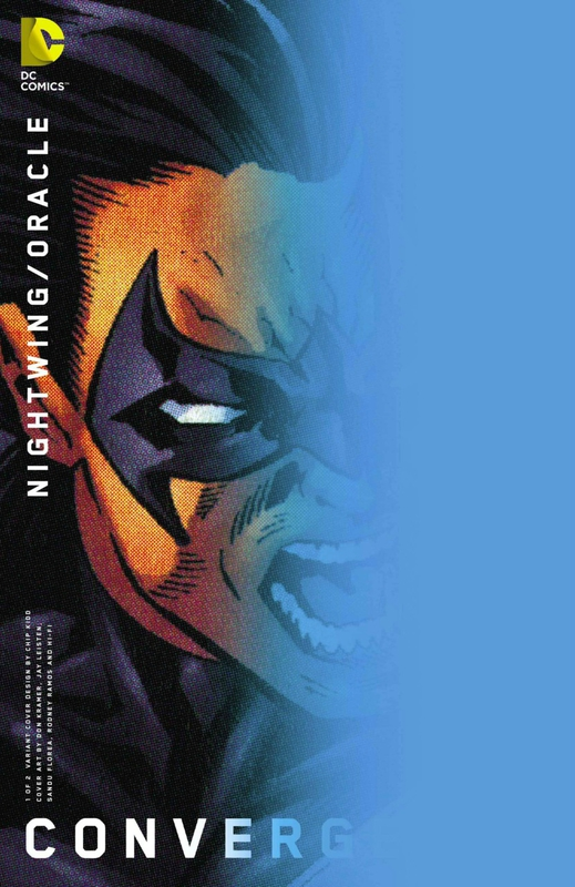 convergence nightwing oracle 1 chip kidd variant