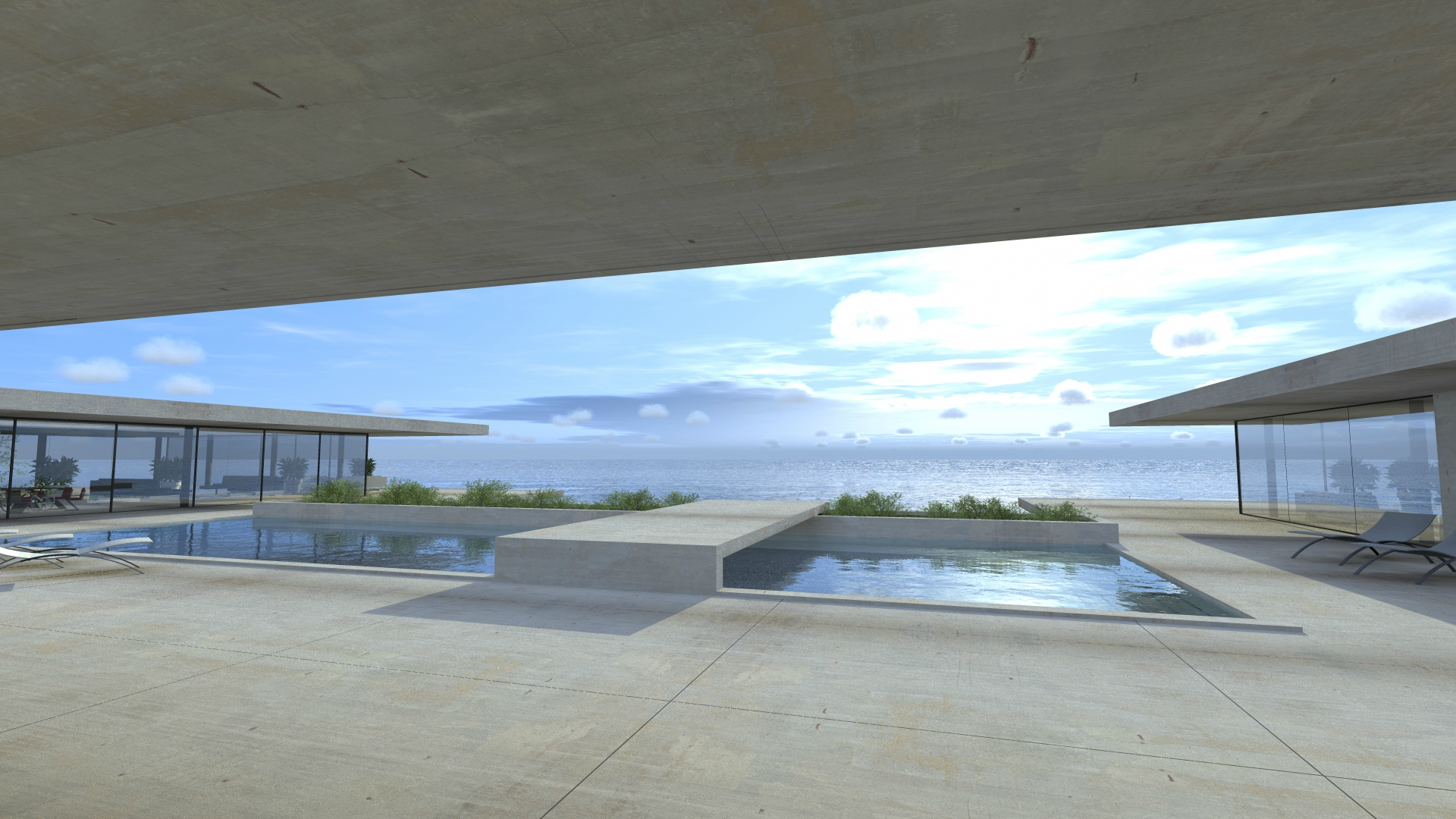 Villa moderne cote d\'azur - villa-contemporaine-cote-d\'azur