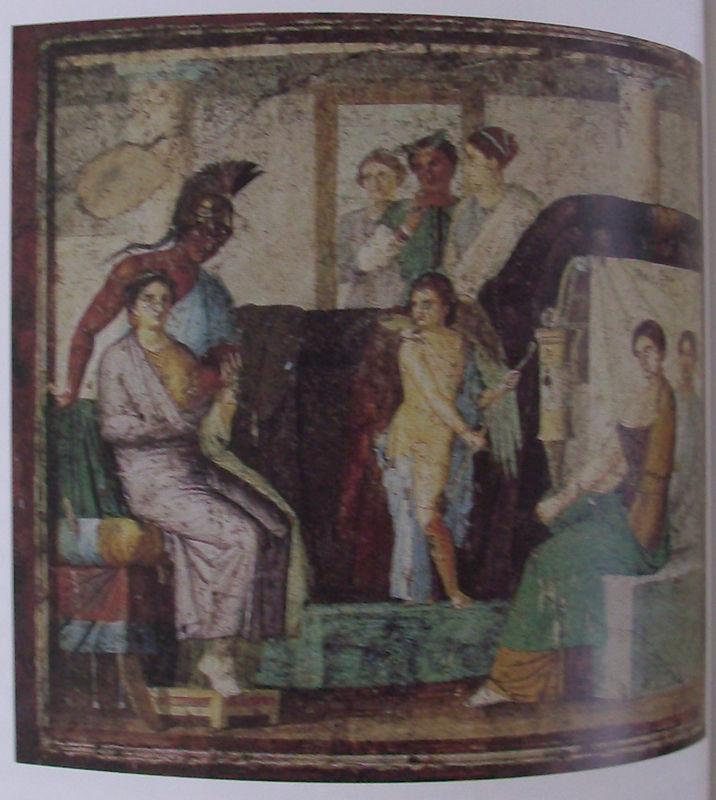 17 Maison de Marcus Lucretius, Mars et Vénus