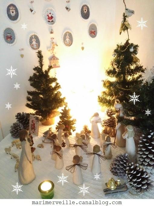 Joyeux Noël 2017 - Marimerveille - crèche