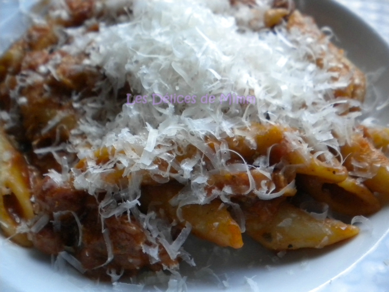 One pan pasta aux lardons 4