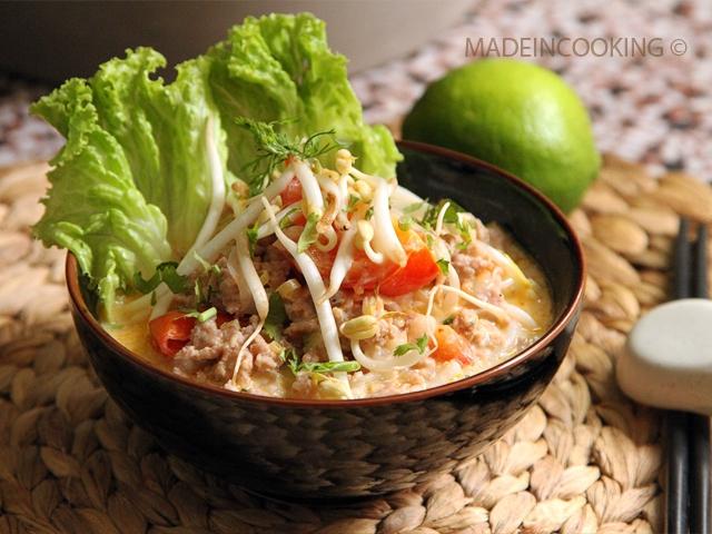Khao Poun Soupe Laotienne Au Lait De Coco MADE IN COOKING - Cuisine laotienne