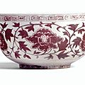 A Rare underglaze-Red Bowl