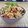 Salade de quinoa asiatique, croquante et craquante !