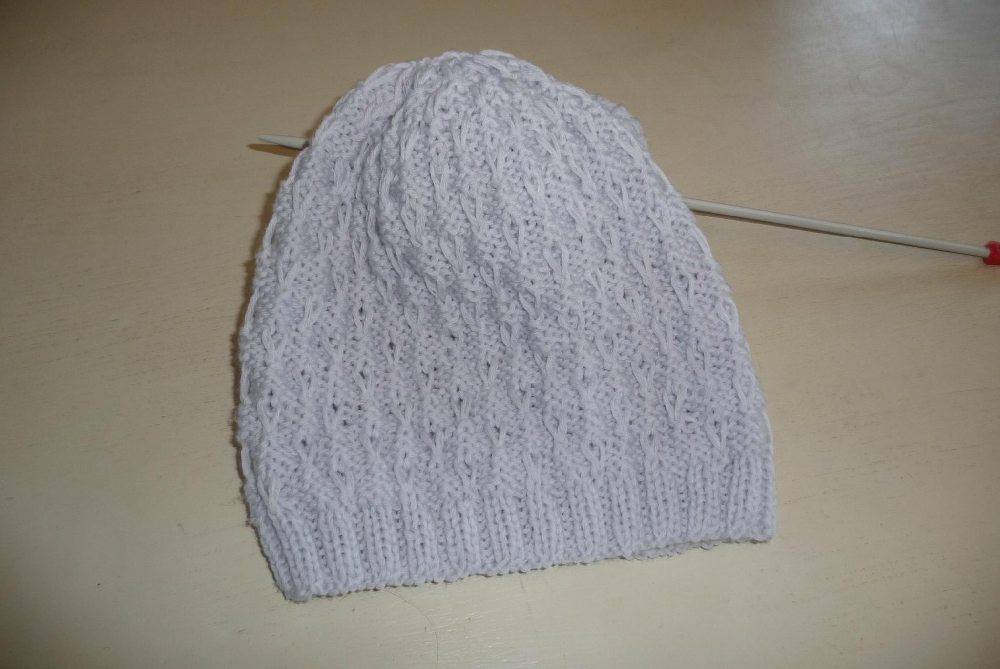 Un bonnet tout doux !