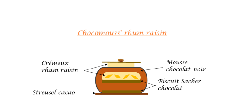 Chocomouss' rhum raisin croquis final