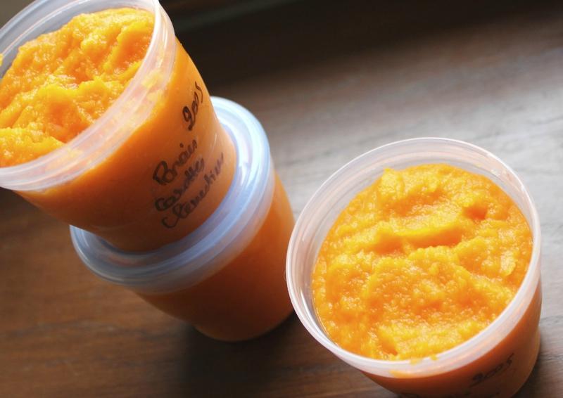 Panais carottes clémentines