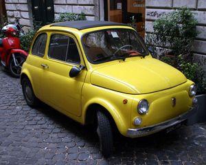Fiat_500_jaune