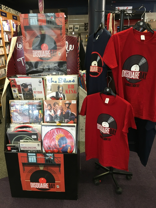 Disquaire Day _ Record Store Day 2016 Coutances librairie OCEP