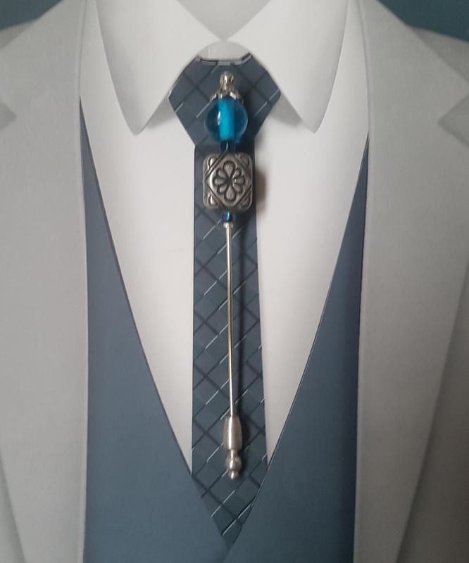Epingle a cravate, epingle a lavallière, mariage (9)