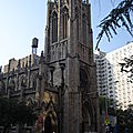 l'une des multiples églises de newyork