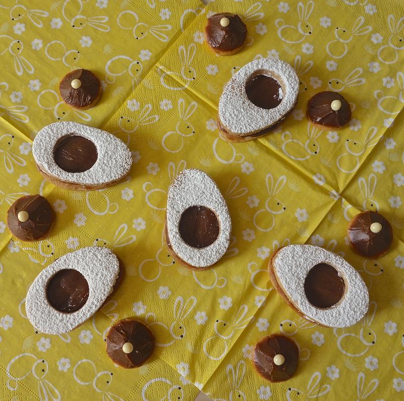 biscuits sablés Pâques 2019