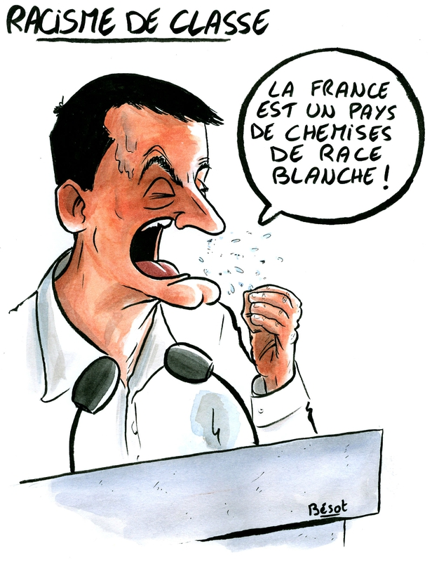 Valls chemise blanche