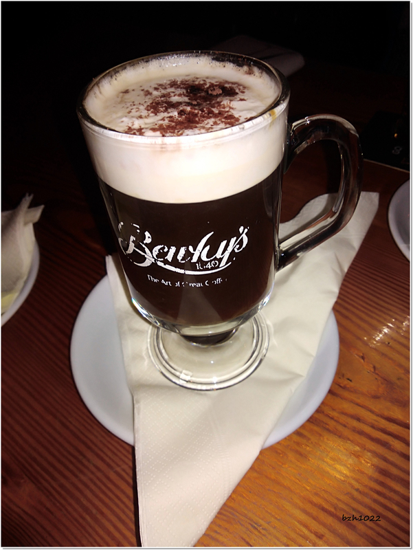 ba irish coffee